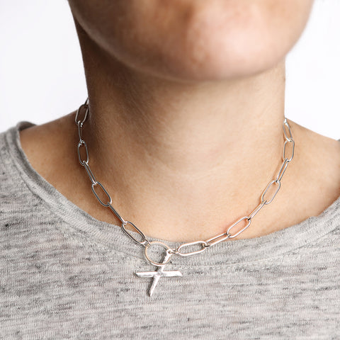 XO Link Collar Necklace