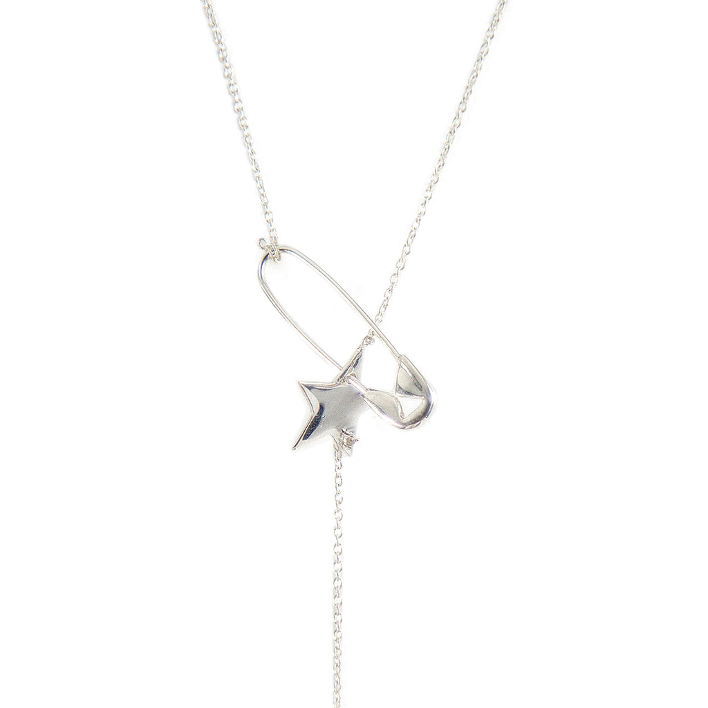 Pin Star Adjustable Lariat Necklace