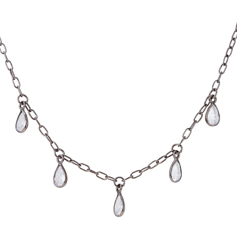 Pear Dangle Necklace