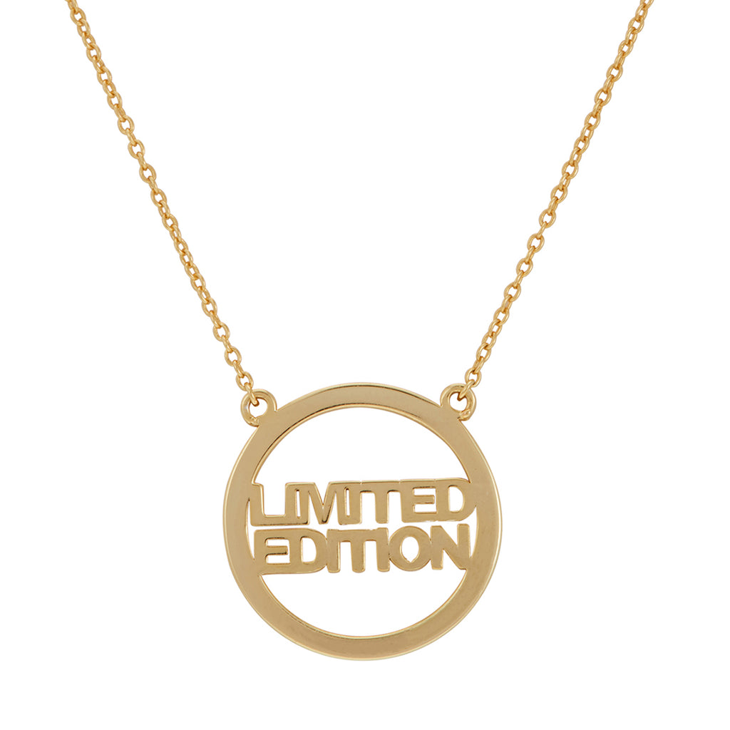 Limited Edition Necklace silver gold