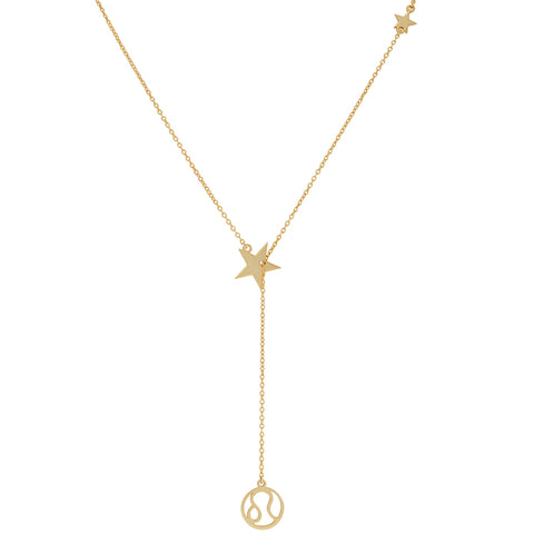 Zodiac Lariat Necklace