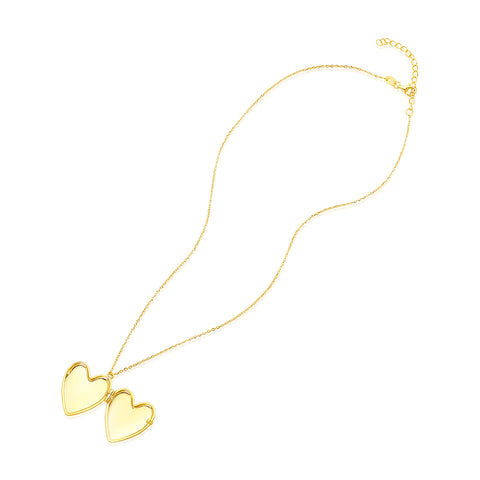 Heart Locket gold