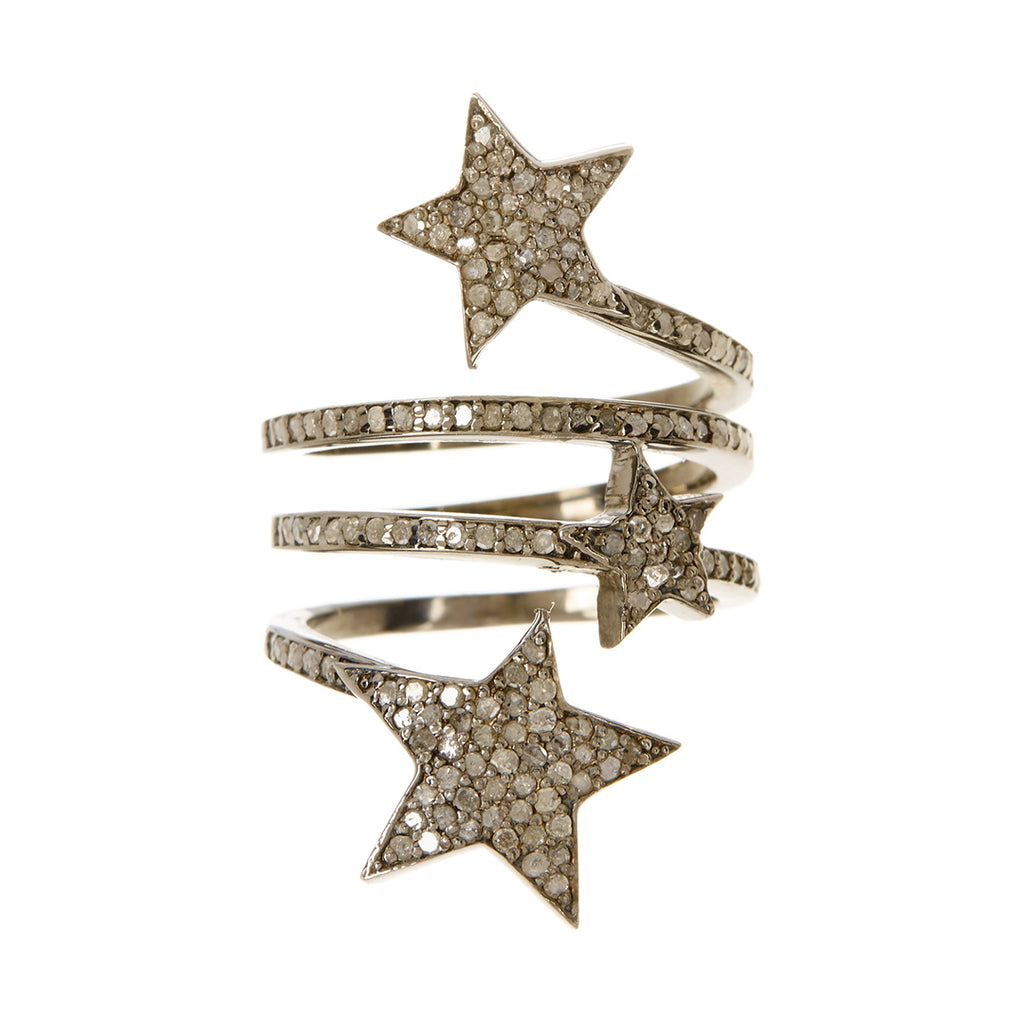 Diamond Starra Star Ring silver diamond
