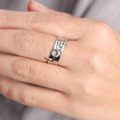 Love Stack Diamond Ring