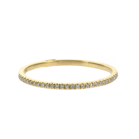 Diamond Half Eternity Band 14k gold diamond