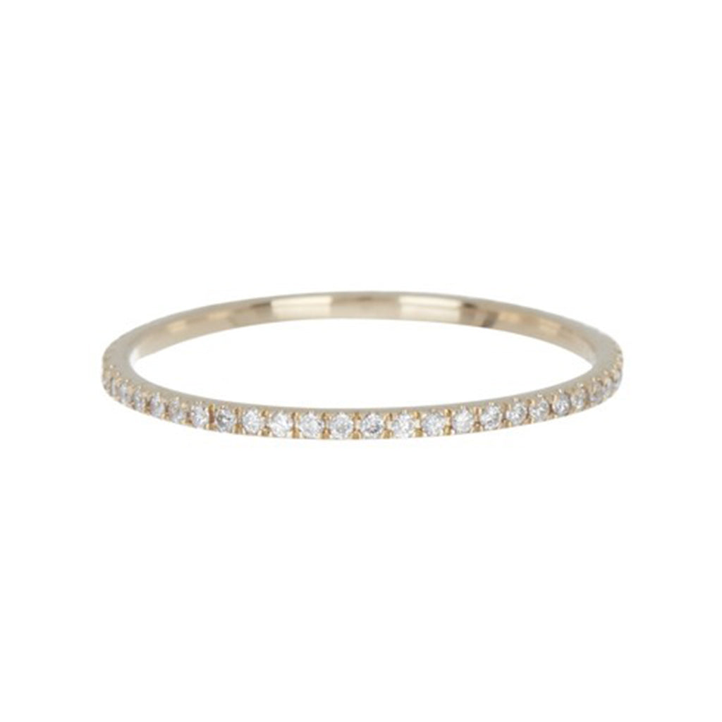 Diamond Full Eternity Band 14k gold diamond