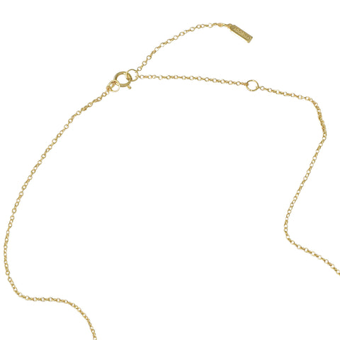 Goals Y-Necklace silver gold