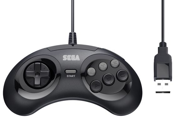 Retro-Bit x SEGA announce Genesis Mini 6-button USB controller!!!