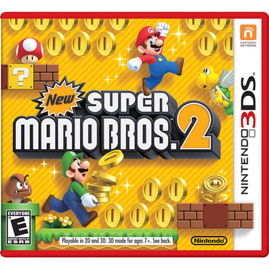 NEW SUPER MARIO BROS 2 (Nintendo 3DS) - CastleMania Games