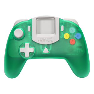 Retro Fighters StrikerDC DreamCast Controller - Green - CastleMania Games