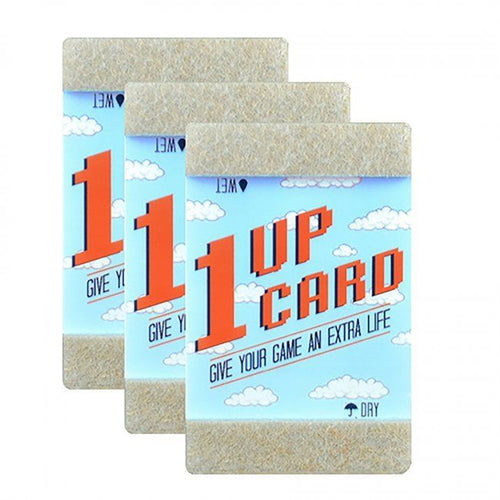 1Up Card  Retro Video Game Cartridge Cleaning 3 Pack NES SEGA N64 SNES Nintendo - CastleMania Games