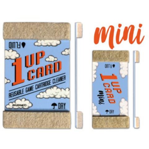1UPcard Mini 4 Pack - Game Boy Nintendo Switch Game Gear cartridge cleaner - CastleMania Games