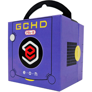 EON Purple GCHD MKII Video Adapter - Nintendo Gamecube - Dual Output - No Lag - CastleMania Games