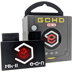 EON Black GCHD MKII Video Adapter - Nintendo Gamecube - Dual Output - No Lag - CastleMania Games