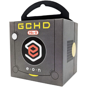 EON Black GCHD MKII HDMI Adapter - Nintendo Gamecube - Dual Output - No Lag - CastleMania Games