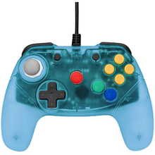 Load image into Gallery viewer, Retro Fighters Brawler64 Controller - Ice Blue - Funtastic Inspired Nintendo 64, Black Friday - CastleMania Games
