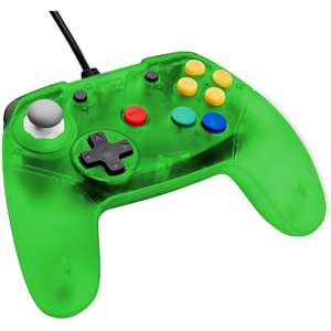 Retro Fighters Brawler64 Controller Jungle Green Funtastic Inspired Nintendo 64 - CastleMania Games