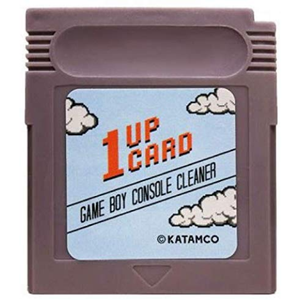 Game Boy Console Cleaner - Game Boy Cleaning Cartridge by 1UPcard - CastleMania Games