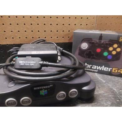 Nintendo 64 Advanced RGB Upgraded Console Set