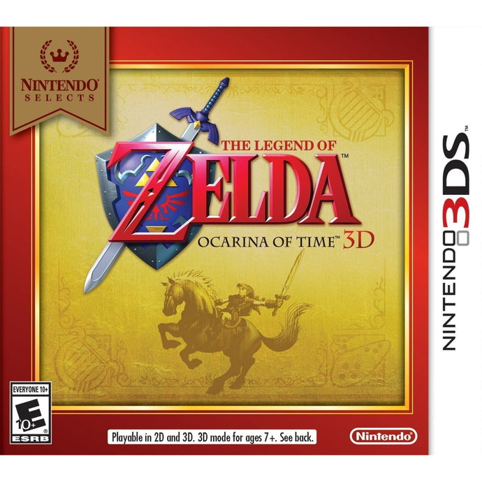 THE LEGEND OF ZELDA: OCARINA OF TIME 3D (Nintendo 3DS) - CastleMania Games