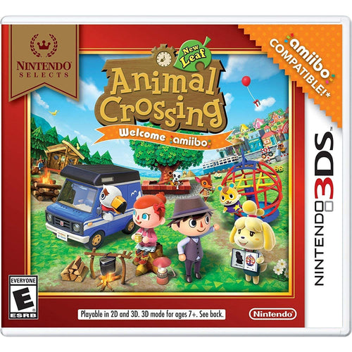 ANIMAL CROSSING - NEW LEAF WELCOME AMIIBO - CastleMania Games