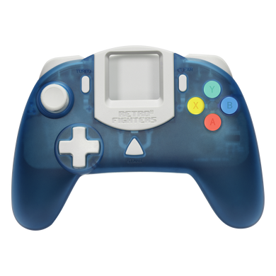 Retro Fighters StrikerDC DreamCast Controller - Blue - CastleMania Games