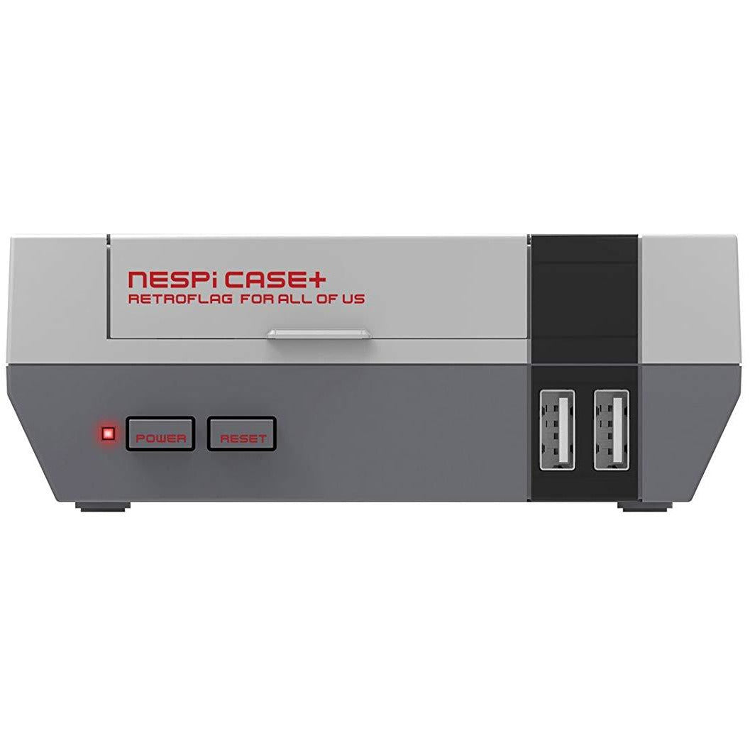 Retroflag NES Pi Case Plus for Raspberry Pi 3 B+  w/ Safe Shutdown Power Button - CastleMania Games