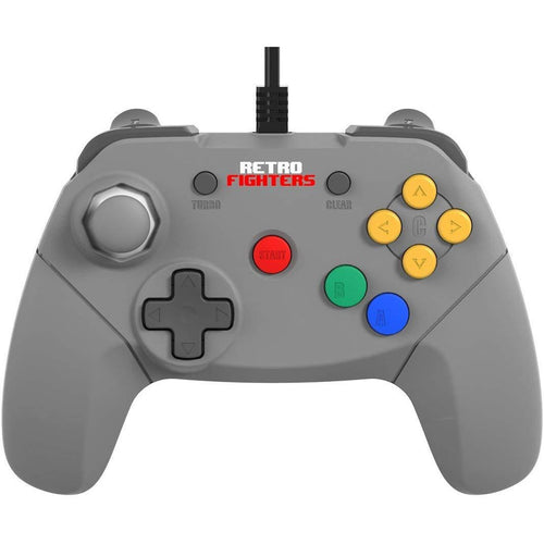Retro Fighters Brawler64 Next Gen N64 Controller V2.0 Game Pad - Nintendo 64 - CastleMania Games
