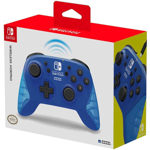 Nintendo Switch Wireless HORIPAD (Blue) by HORI - Officially Licensed by Nintendo - CastleMania Games