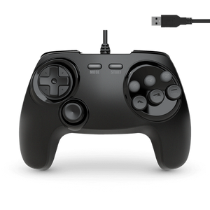 BrawlerGen USB Genesis Mini / Switch / Mac / PC Controller, Black Friday - CastleMania Games