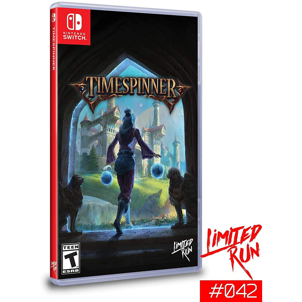 Limited Run #042: TimeSpinner (Switch) - CastleMania Games