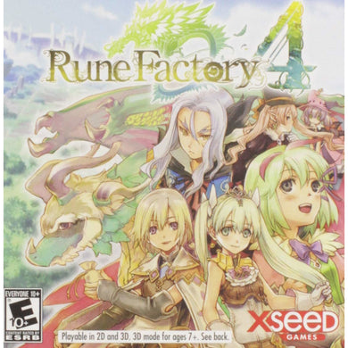 RUNE FACTORY 4 - Nintendo 3DS - CastleMania Games