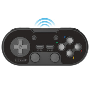 Retro-Bit Legacy16 2.4GHz Wireless Controller - Black - CastleMania Games