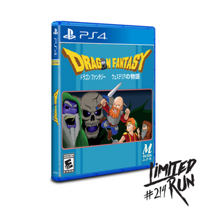 Limited Run #214: Dragon Fantasy (PS4) - CastleMania Games