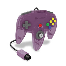"Load image into Gallery viewer, ""Captain"" Premium Controller for N64® (Amethyst Purple) - Hyperkin - CastleMania Games"