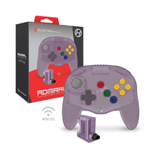 "Load image into Gallery viewer, ""Admiral"" Premium BT Controller for N64® (Amethyst Purple) - Hyperkin - CastleMania Games"
