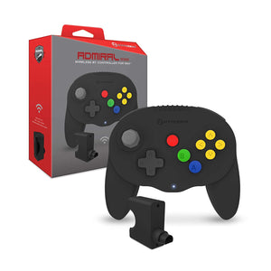 """Admiral"" Premium BT Controller for N64® (Black) - Hyperkin - CastleMania Games"