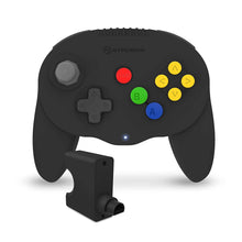 "Load image into Gallery viewer, ""Admiral"" Premium BT Controller for N64® (Black) - Hyperkin - CastleMania Games"