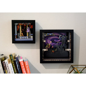 "Pixel Frames – Castlevania: Symphony of the Night 9""x9"" - CastleMania Games"