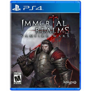 IMMORTAL REALMS: VAMPIRE WARS (PS4) - CastleMania Games