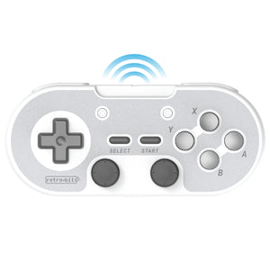 Retro-Bit Legacy16 2.4GHz Wireless Controller - Grey - CastleMania Games
