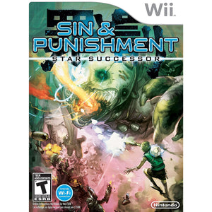 SIN & PUNISHMENT STAR SUCCESSOR (Nintendo Wii) - CastleMania Games