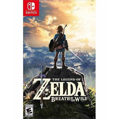 LEGEND OF ZELDA: BREATH OF THE WILD (SWITCH) - CastleMania Games
