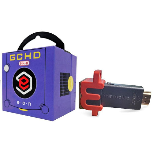 HD Starter Set for the Nintendo Gamecube (Purple)