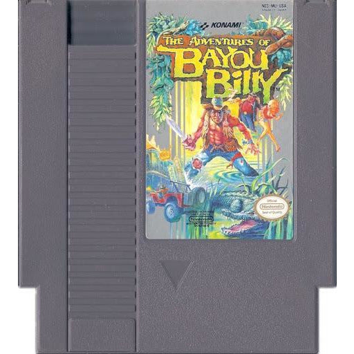 Adventures of Bayou Billy (NES) - CastleMania Games