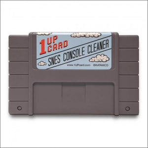 1Up Card SNES Console Cleaner for Super Nintendo - CastleMania Games