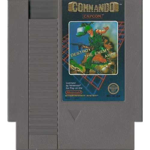 Commando [5 Screw] (NES) - CastleMania Games