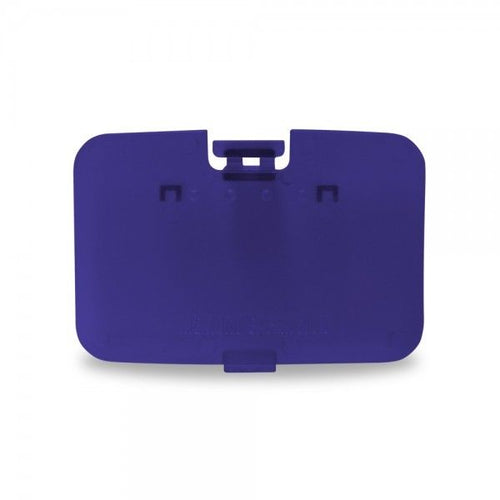 Nintendo N64 Expansion Slot Door Cover (Grape Purple) - Repair Box - CastleMania Games