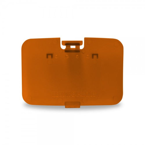 Nintendo N64 Expansion Slot Door Cover (Atomic Orange) - Repair Box - CastleMania Games