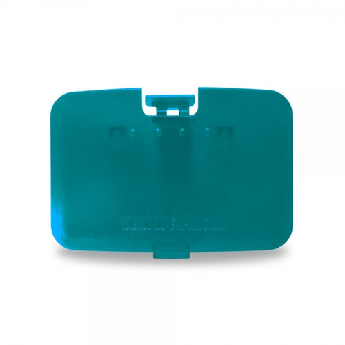 Nintendo N64 Expansion Slot Door Cover (Turquoise) - Repair Box - CastleMania Games